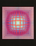Vega 201, 1968 Affiches par Victor Vasarely