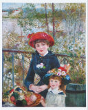 On the Terrasse Poster by Pierre-Auguste Renoir