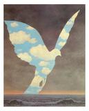 Le Grande Famille Art by Rene Magritte