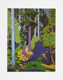 Inside the Forest, 1937 Posters by Ernst Ludwig Kirchner