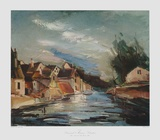 Chartres Collectable Print by Maurice de Vlaminck