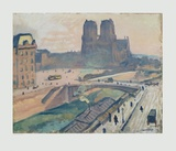 Notre Dame, Paris Collectable Print by Albert Marquet