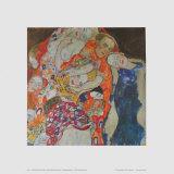 Die Braut - Detail, 1917-18 Kunstdrucke von Gustav Klimt