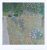 Orchard with Roses, c.1911 Art by Gustav Klimt