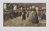 Flax Mill in Laren Collectable Print by Max Liebermann
