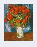 Mohnblumen, ca. 1886 Kunst von Vincent van Gogh