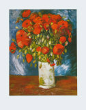 Poppies, c.1886 Prints by Vincent van Gogh