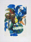 Green Predominating Collectable Print by Ernst  Wilhelm Nay