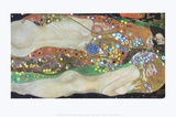 Water Serpents II, c.1907 Prints by Gustav Klimt