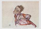 Self-Portrait, 1915 Prints by Egon Schiele