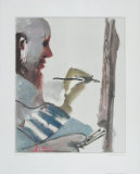 The Painter at Work Collectable Print by Pablo Picasso
