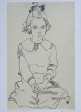 Portrait of a Maria Steiner, 1918 Collectable Print by Egon Schiele