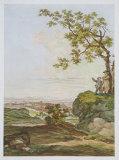 View of the Danube Samlertryk af Joseph Schmuzer