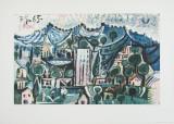 Paisaje  Láminas coleccionables por Pablo Picasso