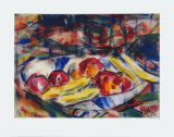 Still Life Collectable Print by Christian Rohlfs