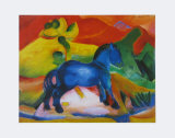 The Little Blue Horse, 1912 Posters by Franz Marc