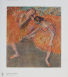 Two Dancers Collectable Print by Edgar Degas