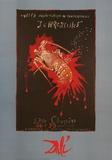 Krebsen Posters af Salvador Dalí