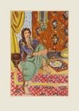 Odaliske Láminas coleccionables por Henri Matisse