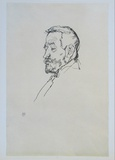 Portrait of Heinrich Benesch, 1913 Collectable Print by Egon Schiele