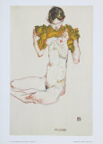 The Virgin, 1913 Poster by Egon Schiele
