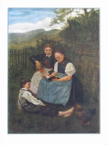 Summer Evening Collectable Print by Hans Thoma