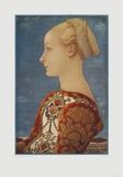 Portrait of a Girl Collectable Print by Antonio Pollaiuolo