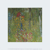 Farm Garden with Crucifix, 1910 Poster by Gustav Klimt