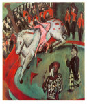Circus-Rider Poster by Ernst Ludwig Kirchner