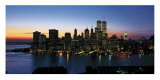 New York Skyline, Graphics Pster por Richard Berenholtz