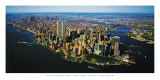 Aerial View of Manhattan Prints by Steven Hans Lindner