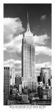 Empire State Building Plakat af Henri Silberman
