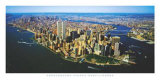 Aerial View of Manhattan Posters by Steven Hans Lindner