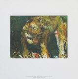 The Tigon Kunstdrucke von Oskar Kokoschka