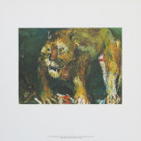 The Tigon Print by Oskar Kokoschka