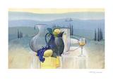 Still Life in Toscana II Poster by Heinz Hock