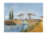 The Langlois Drawbridge Prints by Vincent van Gogh