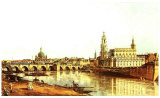 Dresden Elbufer Prints by  Canaletto