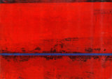 Rouge (Kandinsky) Affiche par Ralf Bohnenkamp