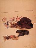 Stilleben mit Hut Posters by Bruno Bruni