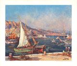 Monaco Posters af Maurice Barle