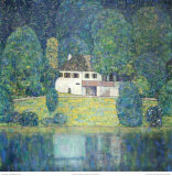 Litzlbergkeller Am Attersee Psters por Gustav Klimt
