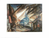 Niedergrünstedt Collectable Print by Lyonel Feininger