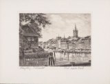 Koenigsberg - Fischmarkt Collectable Print by  Bruck