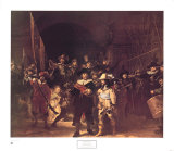The Nightwatch, c.1642 Prints by Rembrandt van Rijn