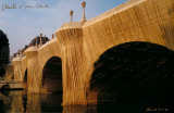 Pont Neuf Collectable Print by Christo 