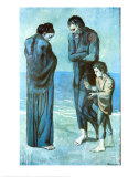 The Tragedy Print by Pablo Picasso