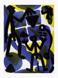 Vergleich Prints by A. R. Penck