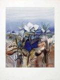 Blauer Vogel Posters af Dieter Framke