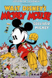 Mickey Mouse in Gulliver Mickey Sérigraphie